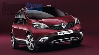 Novo Renault Grand Scénic crossover 2013