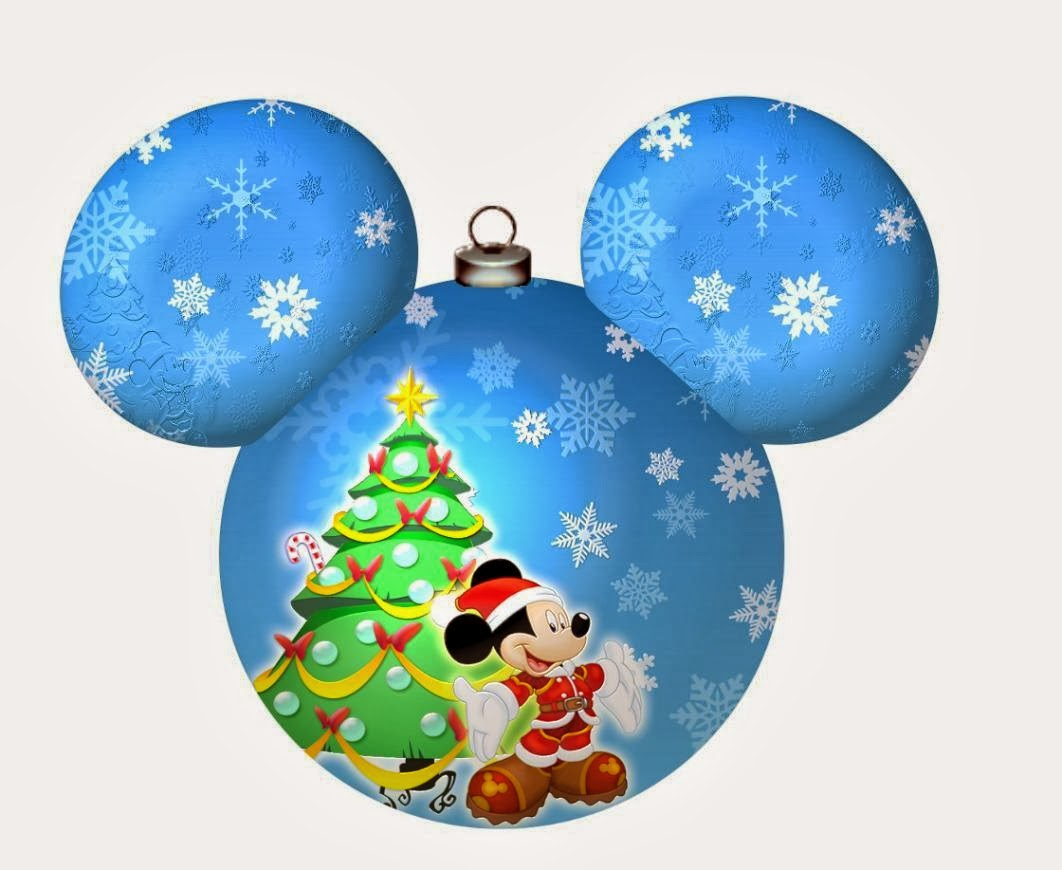 Mickey Mouse Decoracion Navidad ~ Imprimibles de Disney para Navidad con Mickey y Minnie  Ideas y