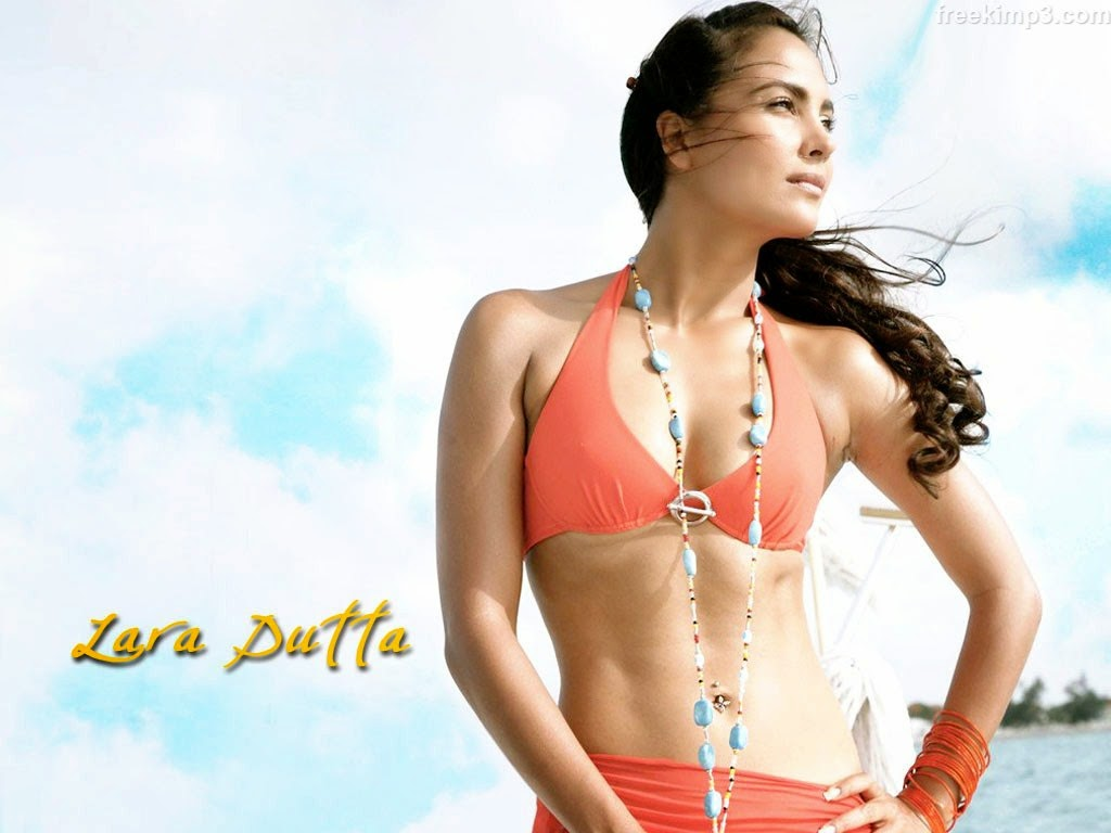 Lara Dutta Sey Wet Boobs Bikini