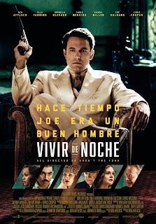 Vivir de Noche (Live by Night) Poster