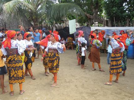 nativos da ilha
