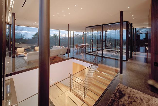 Casas minimalistas y modernas casa minimalista en el bosque for Casa minimalista bosque