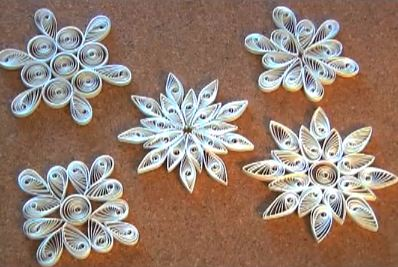 Marsam d corations de no l en papier vid o - Decoration de noel facile a faire soi meme ...