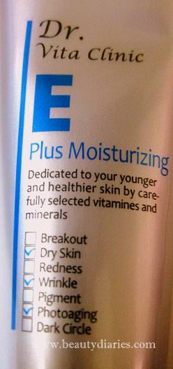 Dr. Vita Clinic E Plus Moisturizing Cream