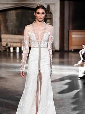 Gaun Pernikahan Internasional 2015 Warna Putih