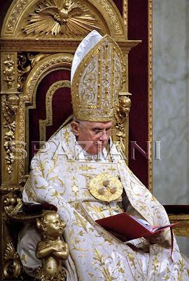 Pope Benedict vestments