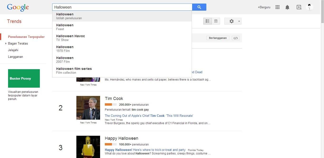 Cara untuk mencari niche keyword yang terbaik untuk Blog sebenarnya bisa dilakukan dengan Cara Mencari Niche Keyword Populer di Google Trends
