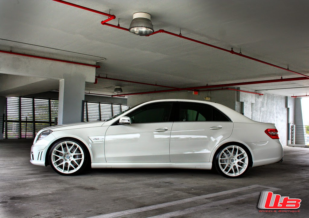 Mercedes Benz W212 E63 Amg On Hre Performance P40 Wheels