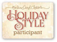 Holiday Style Online Card Class