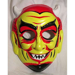 antigua máscara del diablo