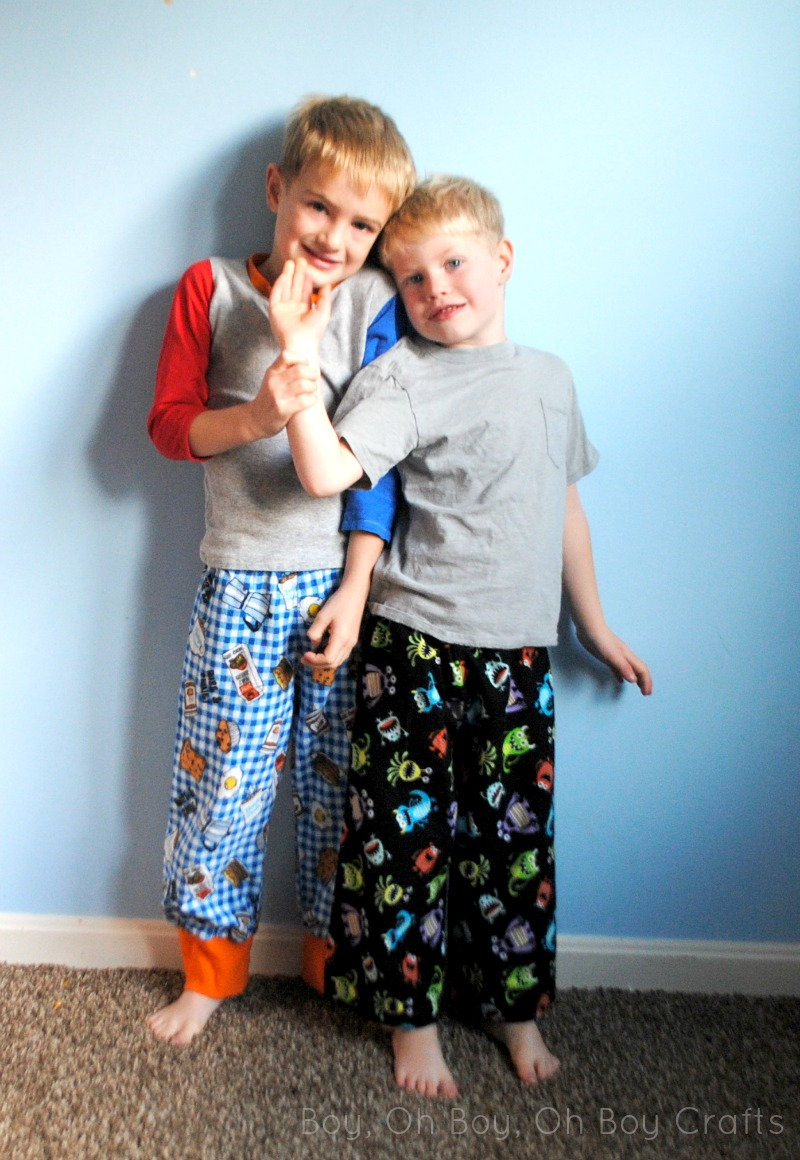 Free Flannel Pajama Pants Sewing Pattern