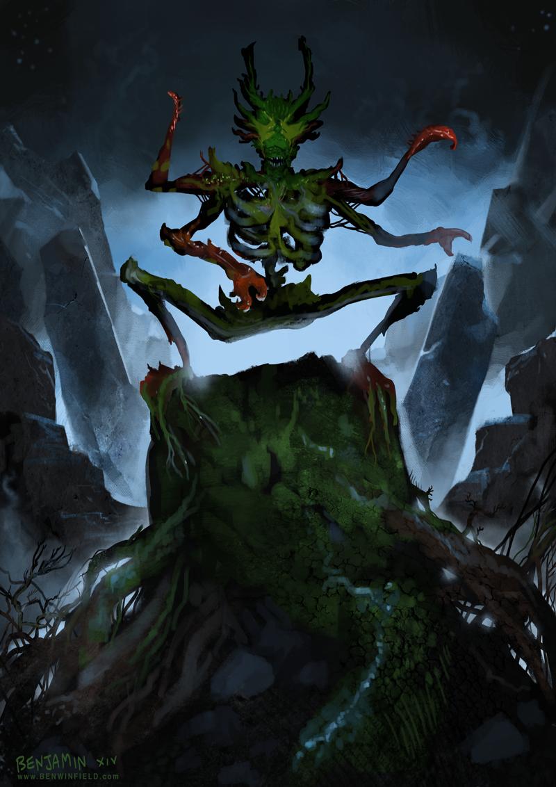 Hogsback Demon by Ben Winfield