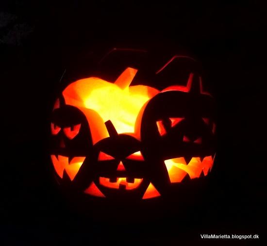 Halloween græskarhoved