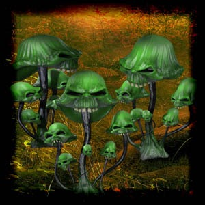 Mgtcs Scary Mushrooms High Quality PNG files