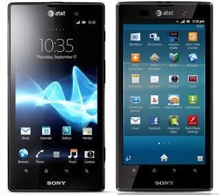 Sony Xperia Ion Terbaru