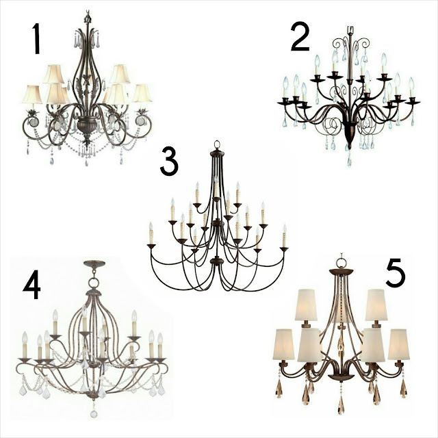 the friday five, chandelier, lighting, traditional, crystals, oil rubbed bronze, board and batten, dining room, office, foyer