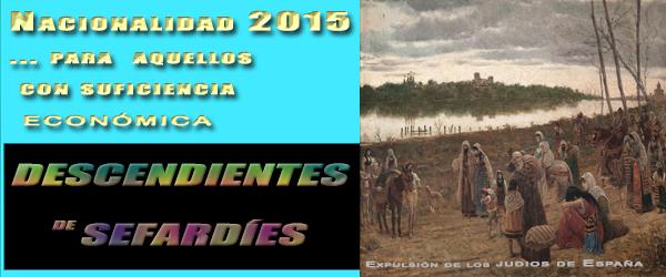 Ley Nacionalidad española para Sefardies