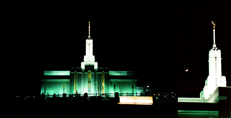 Mount Timpanogos Utah Temple, January 10, 2000