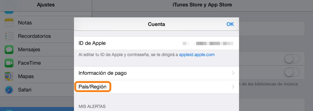 Como cambiar la App Store