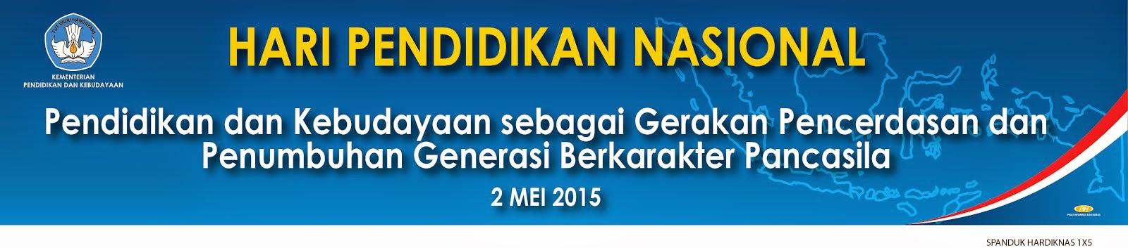 HARI PENDIDIKAN NASIONAL 2015