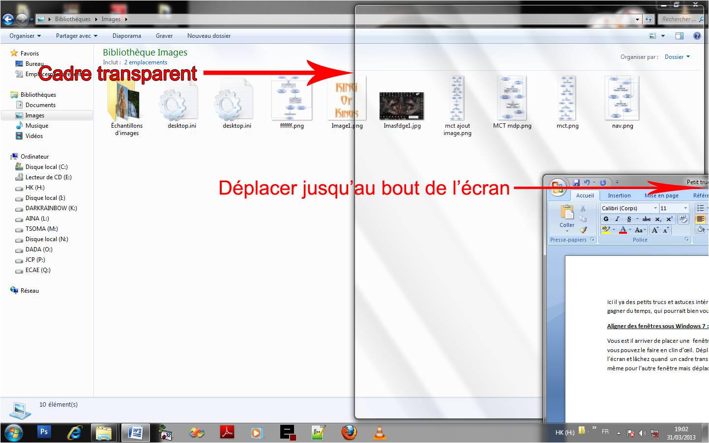 Astuce informatique petits trucs utiles et astuces for Fenetre windows xp
