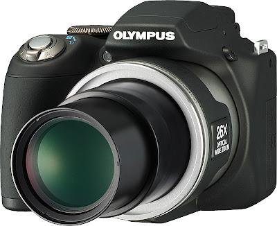 Olympus super zoom compact camera