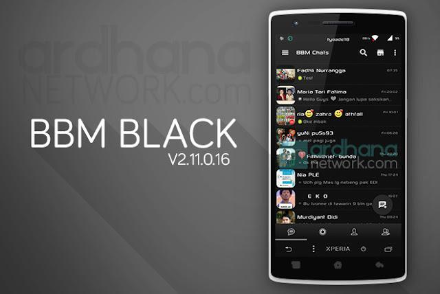 BBM Black Reborn - BBM Android V2.11.0.16