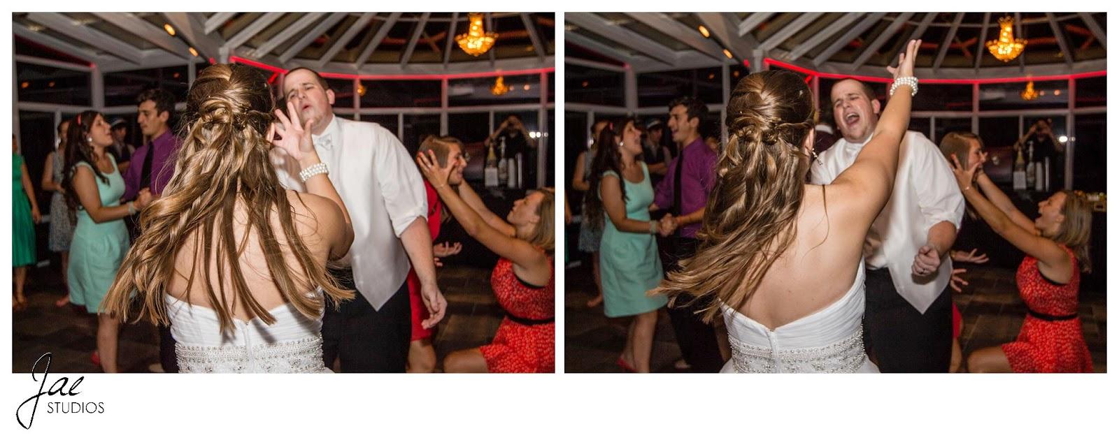 Jonathan and Julie, Bird cage, West Manor Estate, Wedding, Lynchburg, Virginia, Jae Studios, wedding dress, hair, groom, dancing
