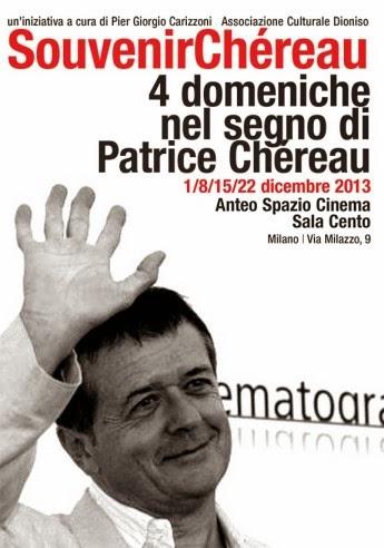 Cinema a Milano, rassegne gratuite nel weekend: domenica 22 dicembre Souvenir Chéreau al Anteo Spazio Cinema