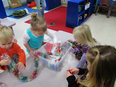 The Pa-Paw Patch, christmas around the world preschool theme, vale nc daycare, vale nc childcare, christmas sensory tub