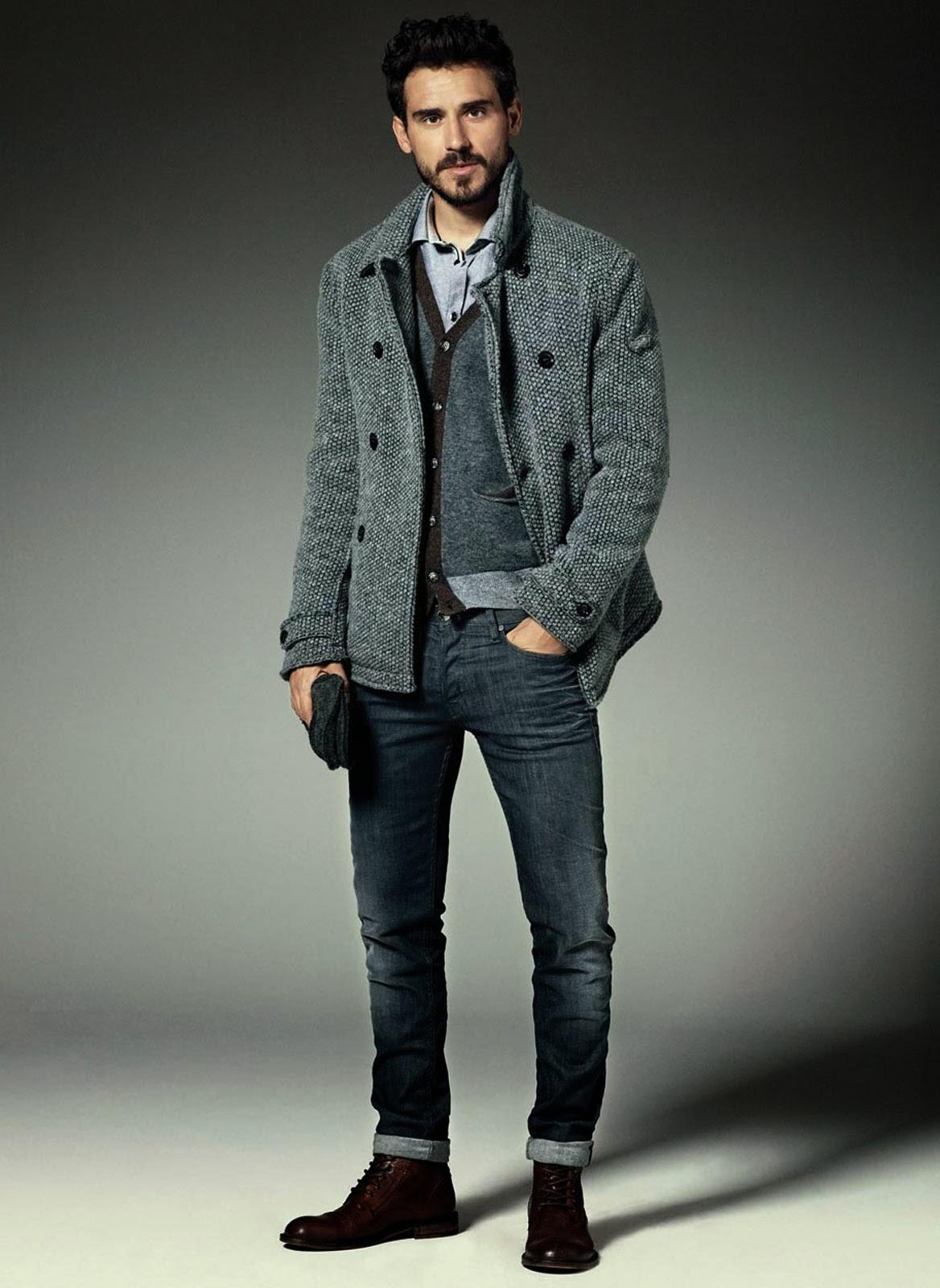 Male Flamboyant Fashion Model