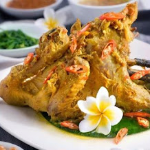 Special balienese Food of Ayam Betutu