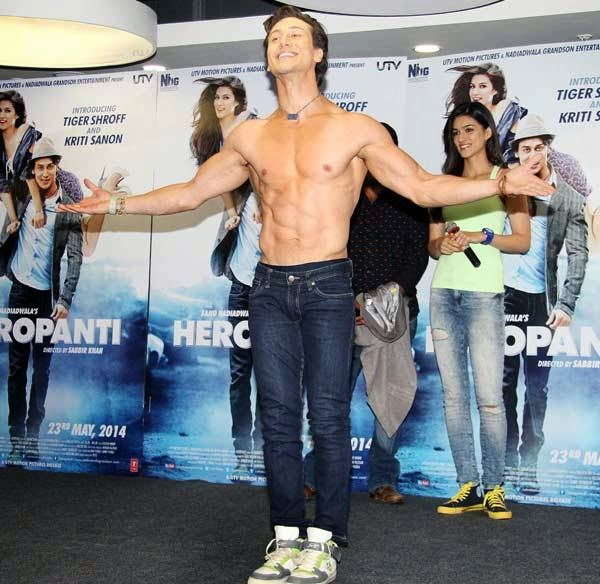 Tiger Shroff Body Workout and Diet | Muscle world