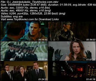 G.I. Joe The Rise Of Cobra 2009 BRRip 720p Dual Audio