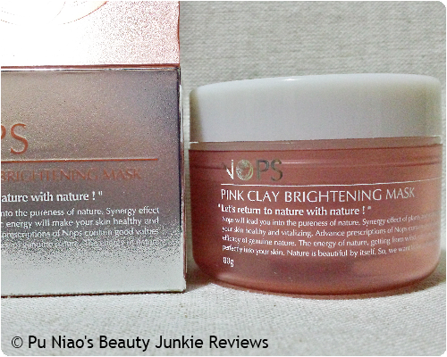 NOPS Pink Clay Brightening Mask