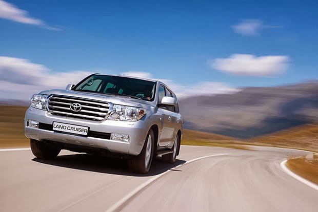 2014 Toyota Land Cruiser 200