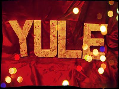 Yule decoupage