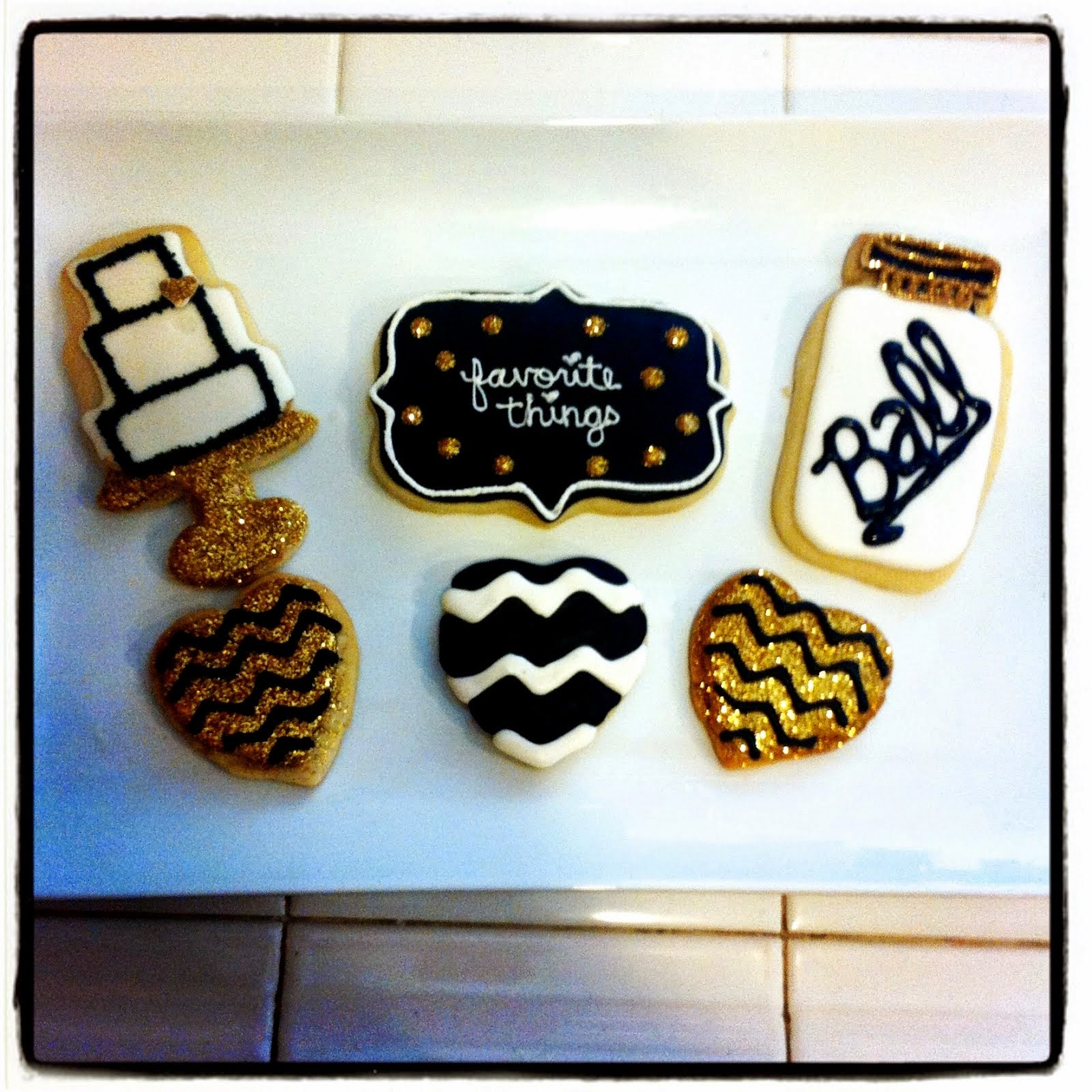 CHEVRON FAVORITE THINGS COOKIES