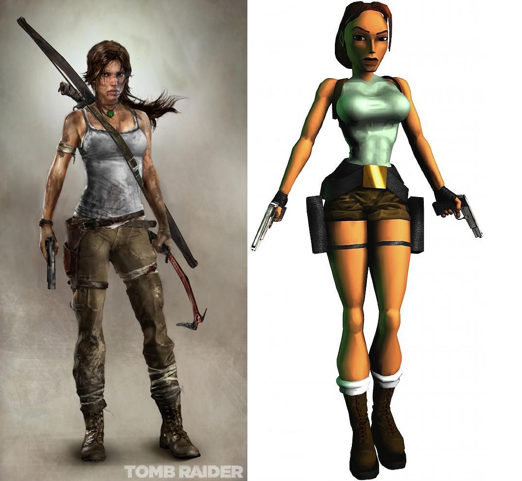 Lara croft old game smut young bitch