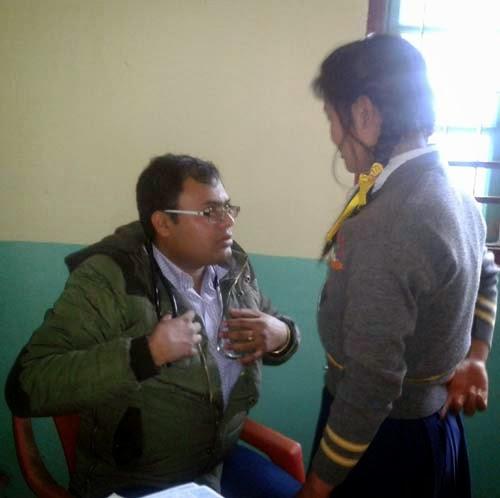 Dr. Supratim Ghos at labdah msk