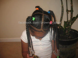 ponytails, cute hairstyles, black girls, natural hair, 3 strand plaits