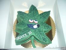 Tort  listek marihuany