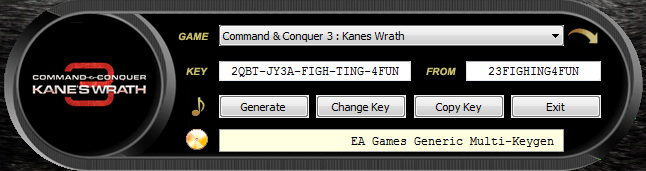 fff keygen for all ea games