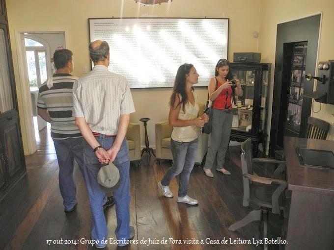 Visita à Casa de Leitura Lya Maria Müller Botelho