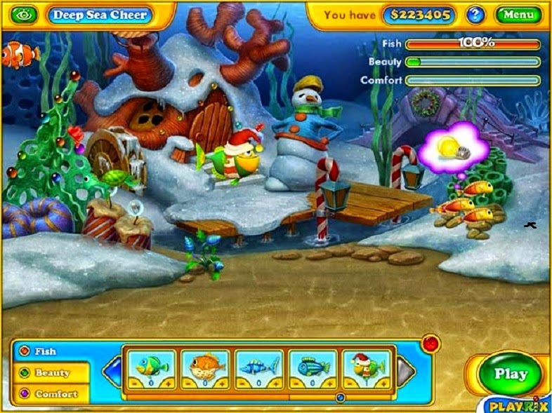 Free Download Fishdom Game or Play Free Full Game Online