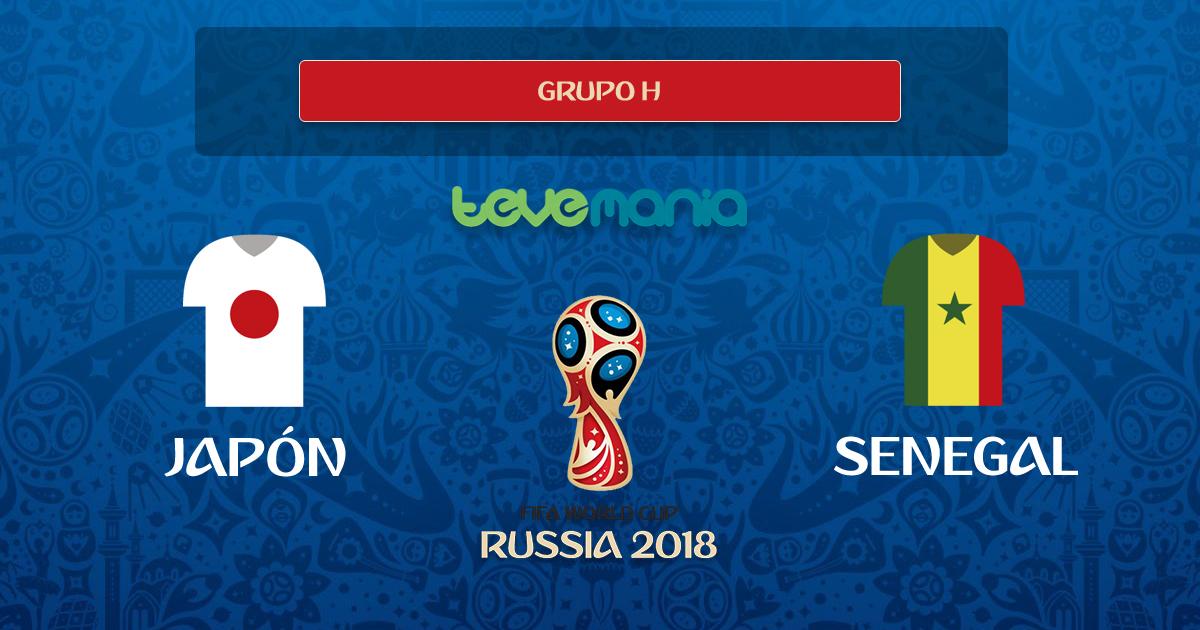 Japón y Senegal empatan 2 a 2 por el Grupo H del mundial