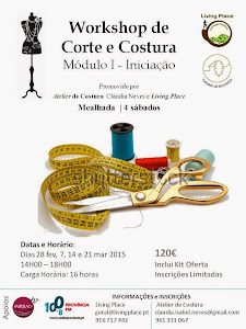 WORKSHOP DE CORTE E COSTURA
