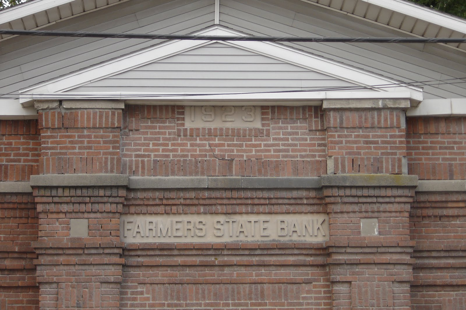 Places To Go Buildings To See Farmers State Bank