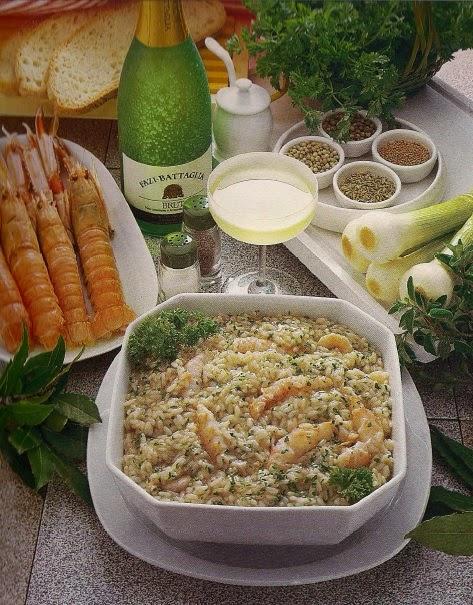 Risotto agli scampi | Rice with shrimp