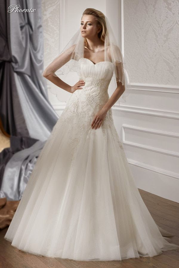 Suknie ślubne Vestido Suknia ślubna Firmy Gala Model Pheonix